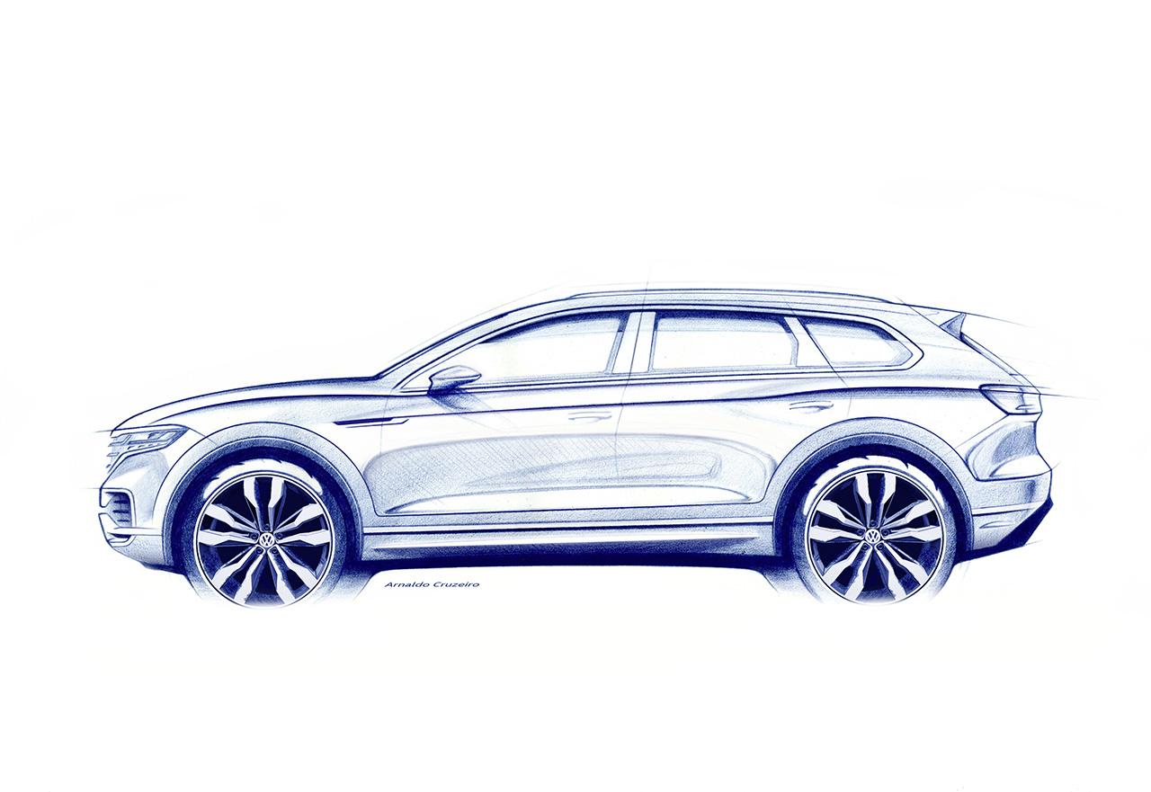 """""""Wyznacza drogę"""" - nowy Volkswagen Touareg"""
